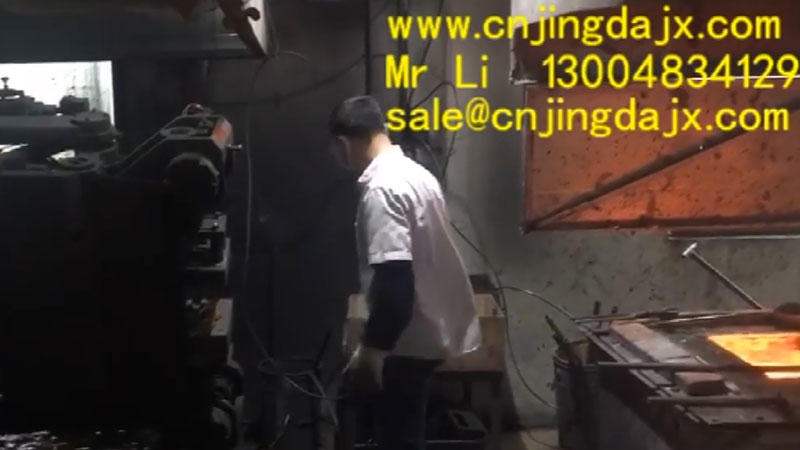 Copper hoist production process