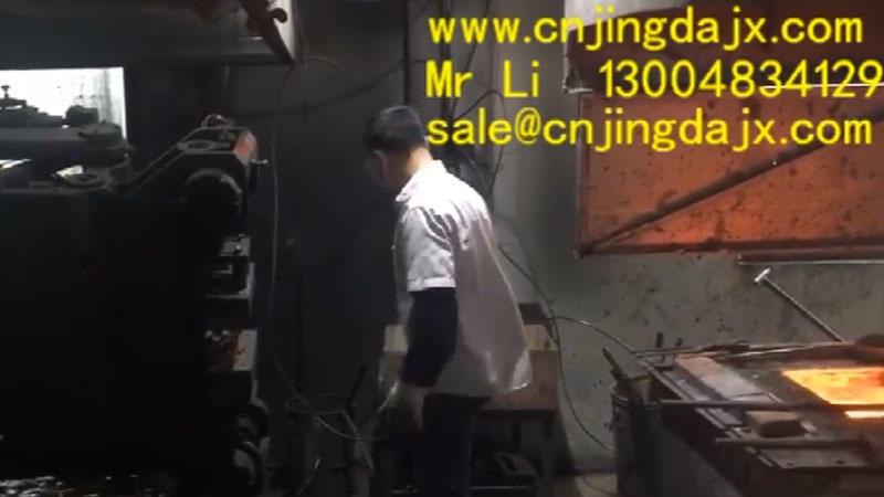 Copper hoist production process