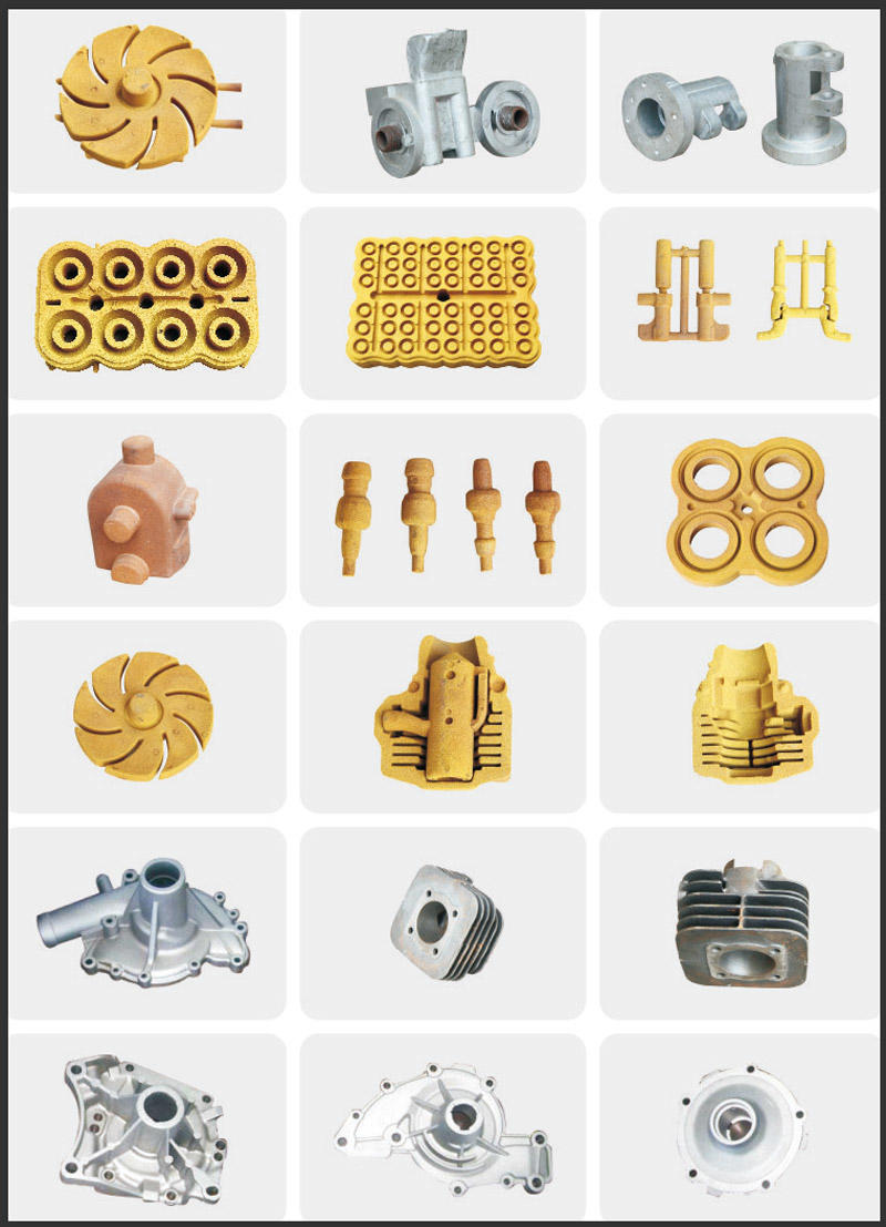 Jingda professional core casting meet customer's needs bulk production