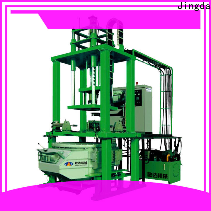 Jingda low pressure casting machine with good price for textile machinery