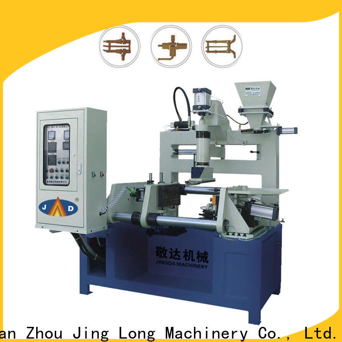 Jingda core making machine easy to operate for industrial area