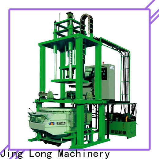 durable low pressure casting machine with good stability for textile machinery