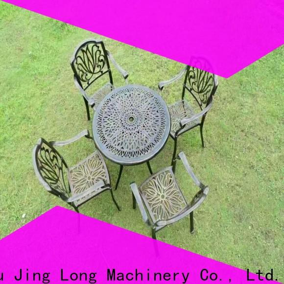 Jingda stable aluminum investment casting wholesale for urniture castings