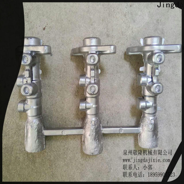 Jingda casting small aluminum parts with stable and reliable function for factory