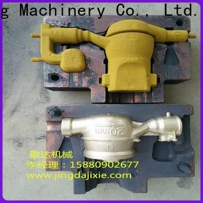 Jingda best price sand casting parts with high efficiency for valves