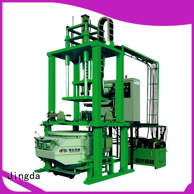 Jingda low pressure casting machine factory for promotion