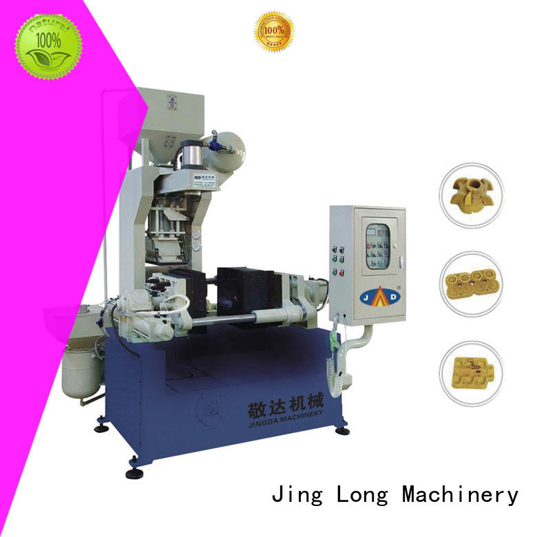Jingda heated sand core machine sation factory