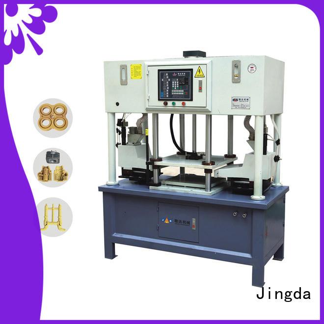 Jingda sand casting meet customer's needs for industrial area