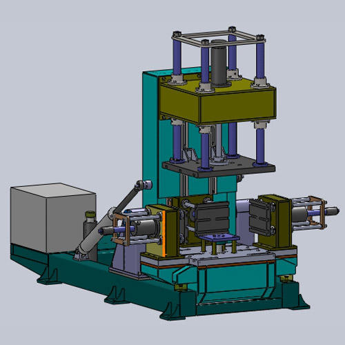 cheap aluminium die casting machine with good stability for industrial area-2