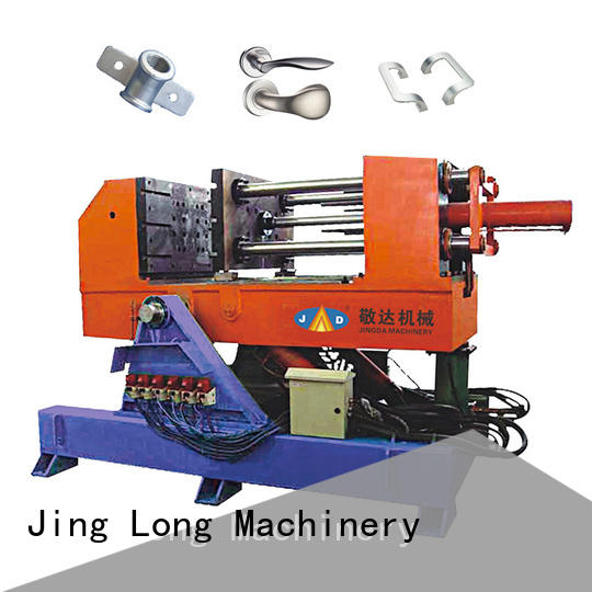 Jingda horizontal cold chamber die casting machine directly sale for work station