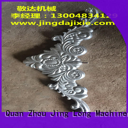 Jingda aluminum casting parts with good price for pumps castings