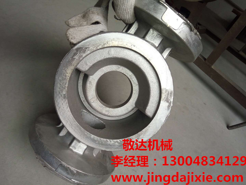 Jingda cost-effective aluminum investment casting with stable and reliable function for pumps castings-1