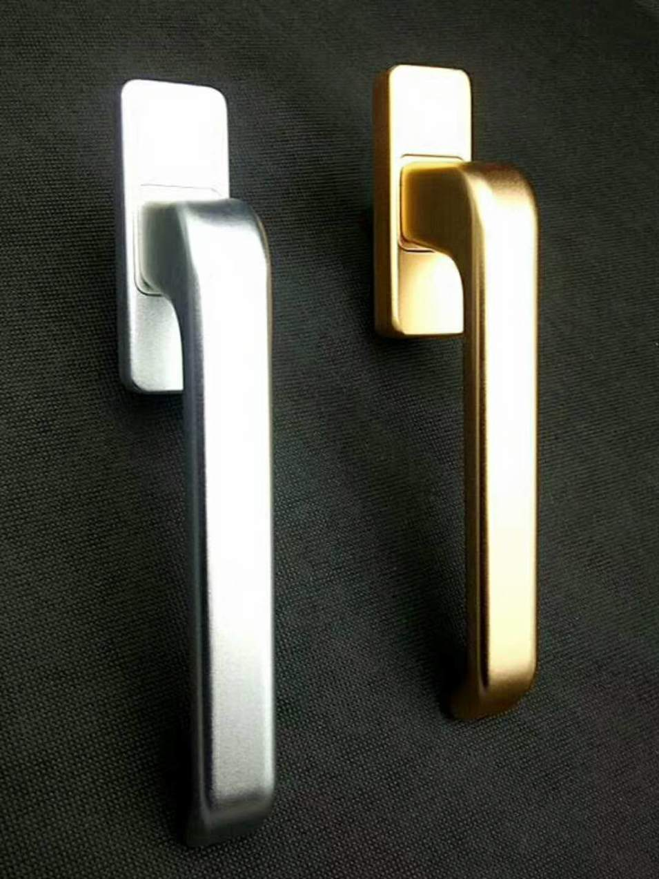 Door handle copper continuous casting
