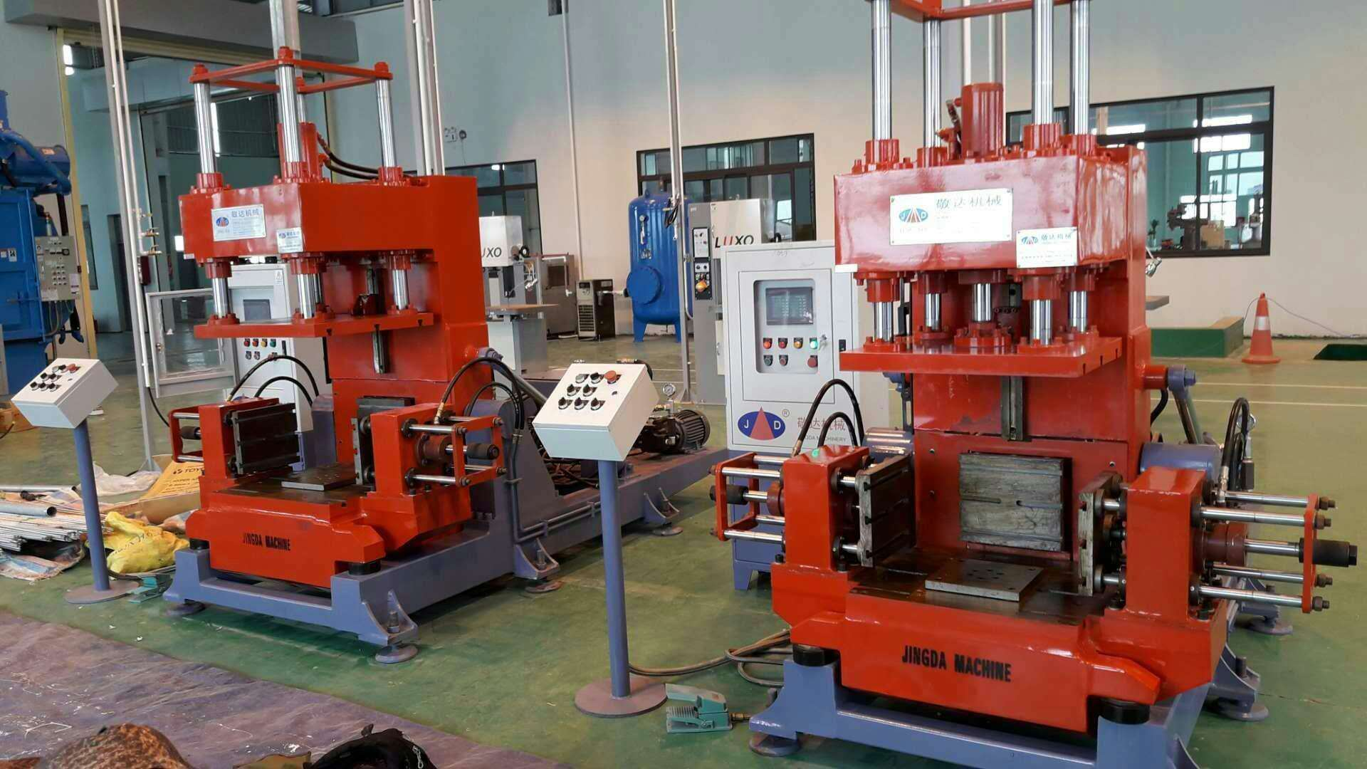Aluminum alloy casting machinery