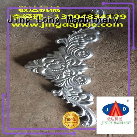 Jingda top aluminium casting process factory direct supply for urniture castings