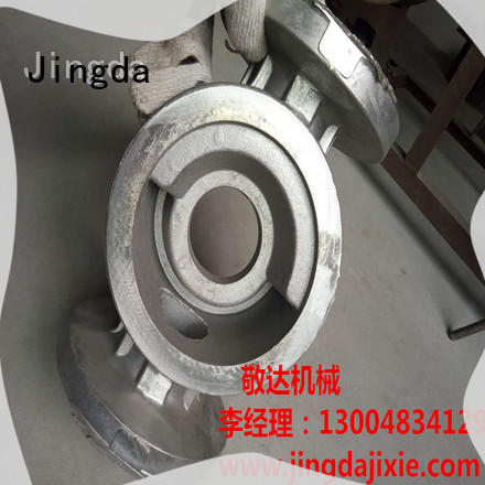 Jingda new custom aluminum foundry factory for pumps castings