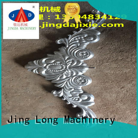 Jingda aluminium die casting parts with stable and reliable function for sale