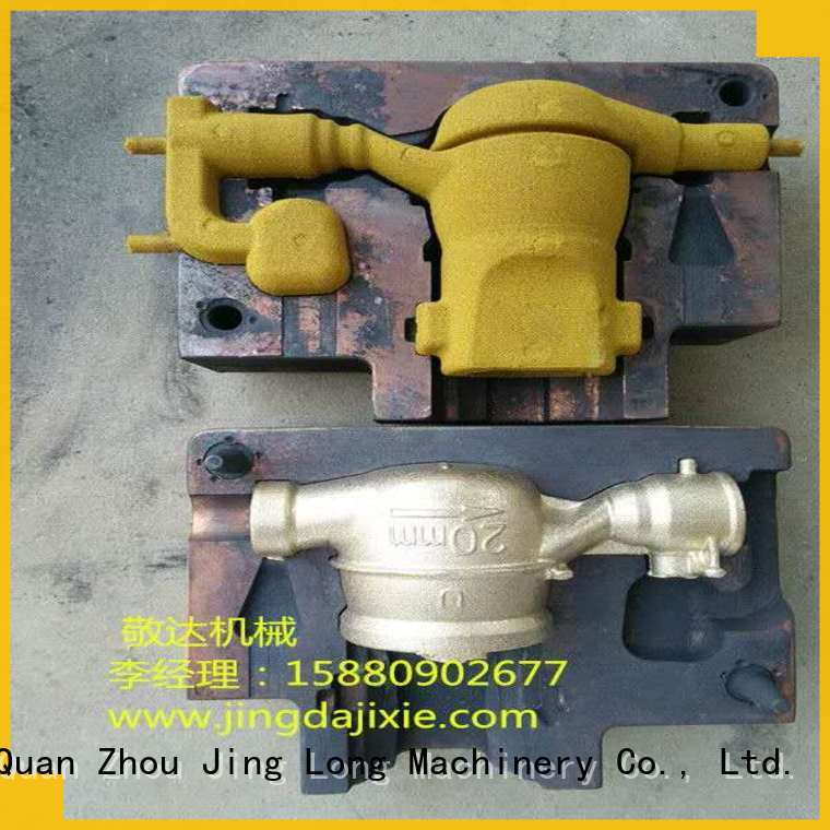 Jingda metal casting sand molds series for brass