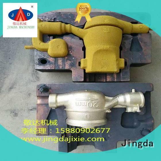 Jingda sand moulding process directly sale for plumbing hardware