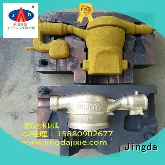 Jingda sand moulding process directly sale for plumbing hardware