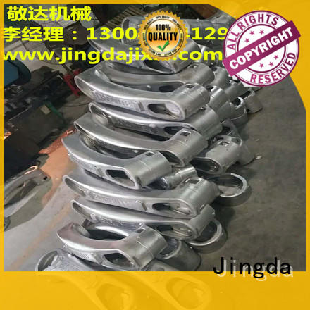 Jingda pot Aluminum Castings easy loading for lamps castings