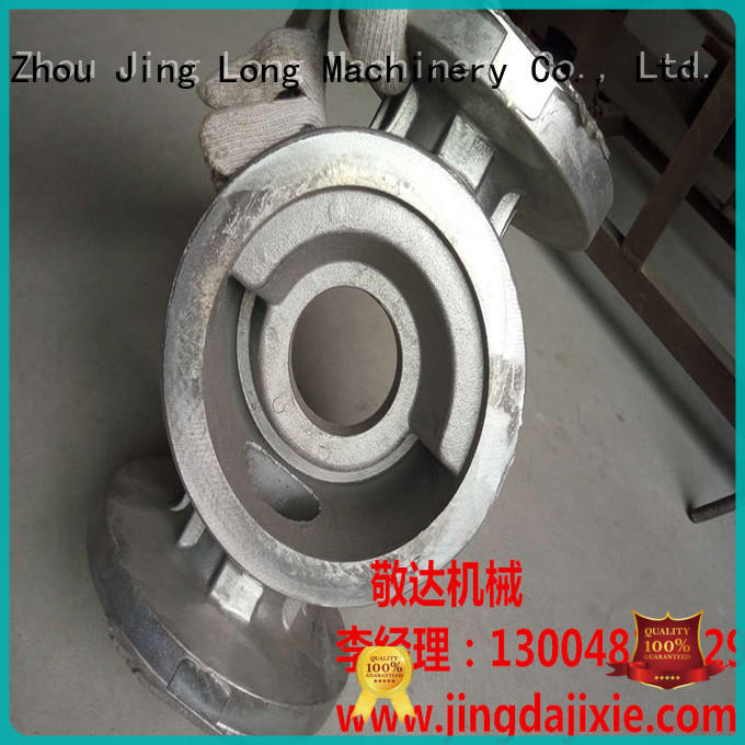 Jingda quality aluminum die casting parts with stable and reliable function for car castings