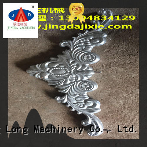 Jingda worldwide types of aluminium casting supplier for lamps castings